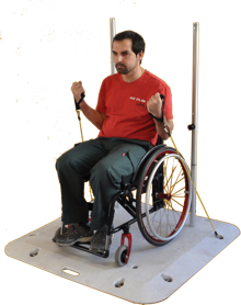 appareil musculation handicape